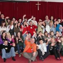 I edycja Alpha dla młodzieży w kościele Św. Rocha - zima 2009
