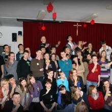 edycja Alpha dla młodzieży w kościele Św. Rocha - zima 2012